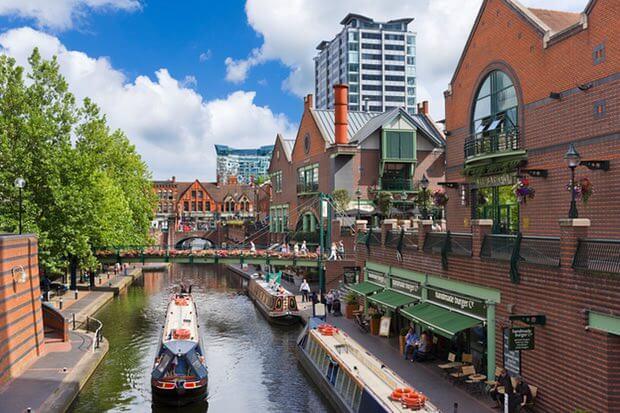 Birmingham's a Tourist Hotspot